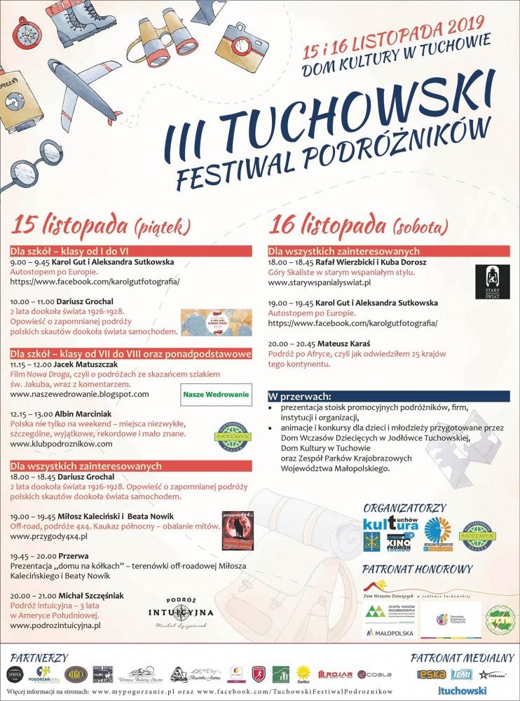 III Tuchowski Festiwal Podróżników