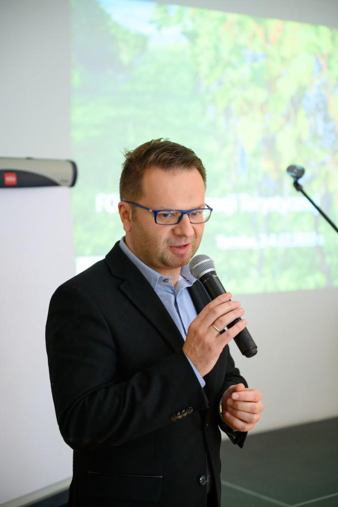 Marcin Pałach, Prezes Tarnowskiej Organizacji Turystycznej wśród 100 najbardziej wpływowych osób w polskiej turystyce