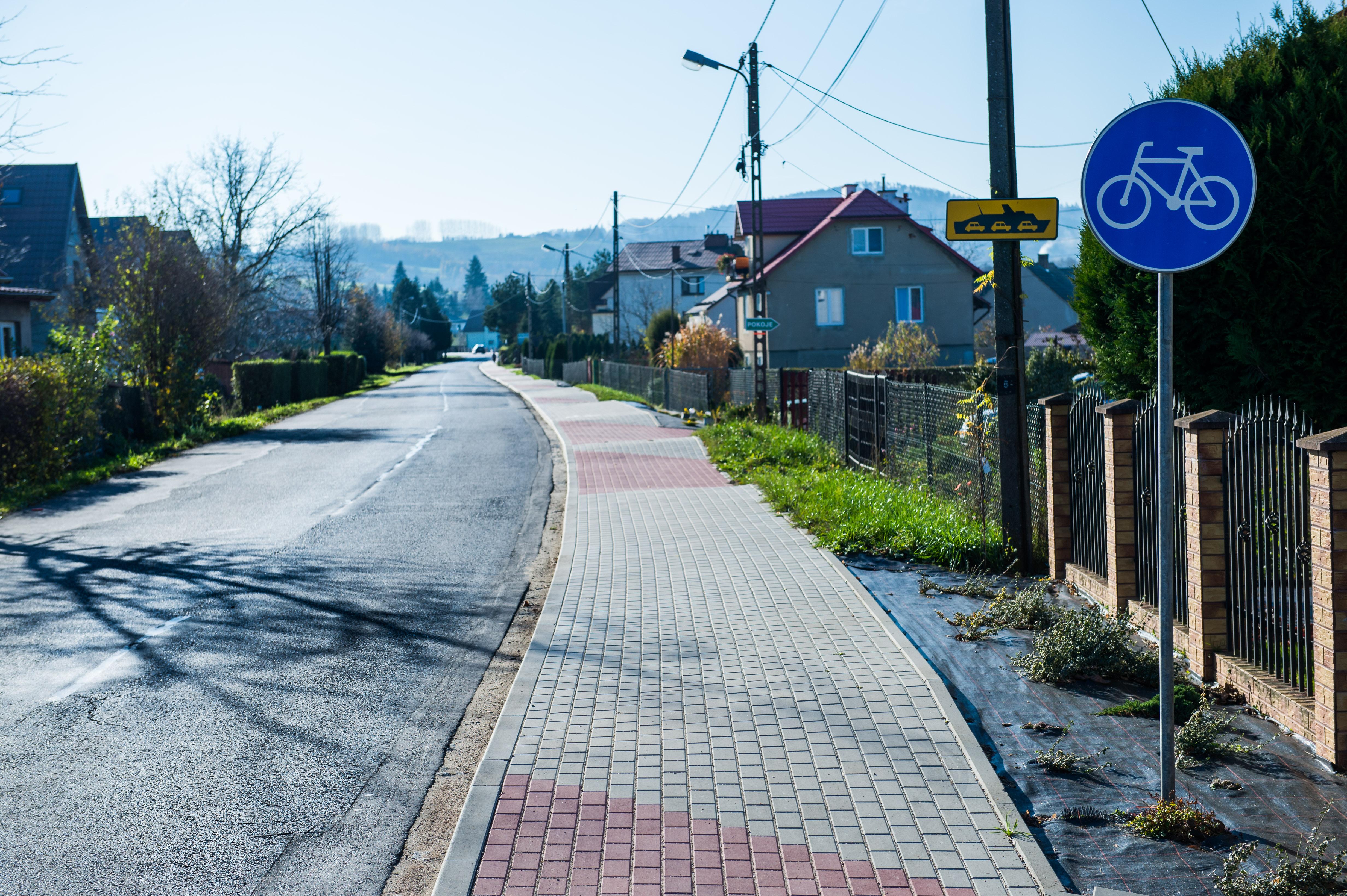 Nowa infrastruktura dla rowerzystów w Ciężkowicach i Zakliczynie