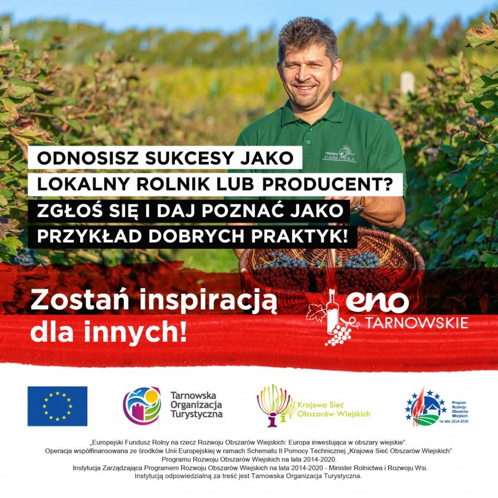 Rekrutacja lokalnych rolników / producentów będących dobrymi przykładami celem przedstawienia ich w kampanii promocyjnej