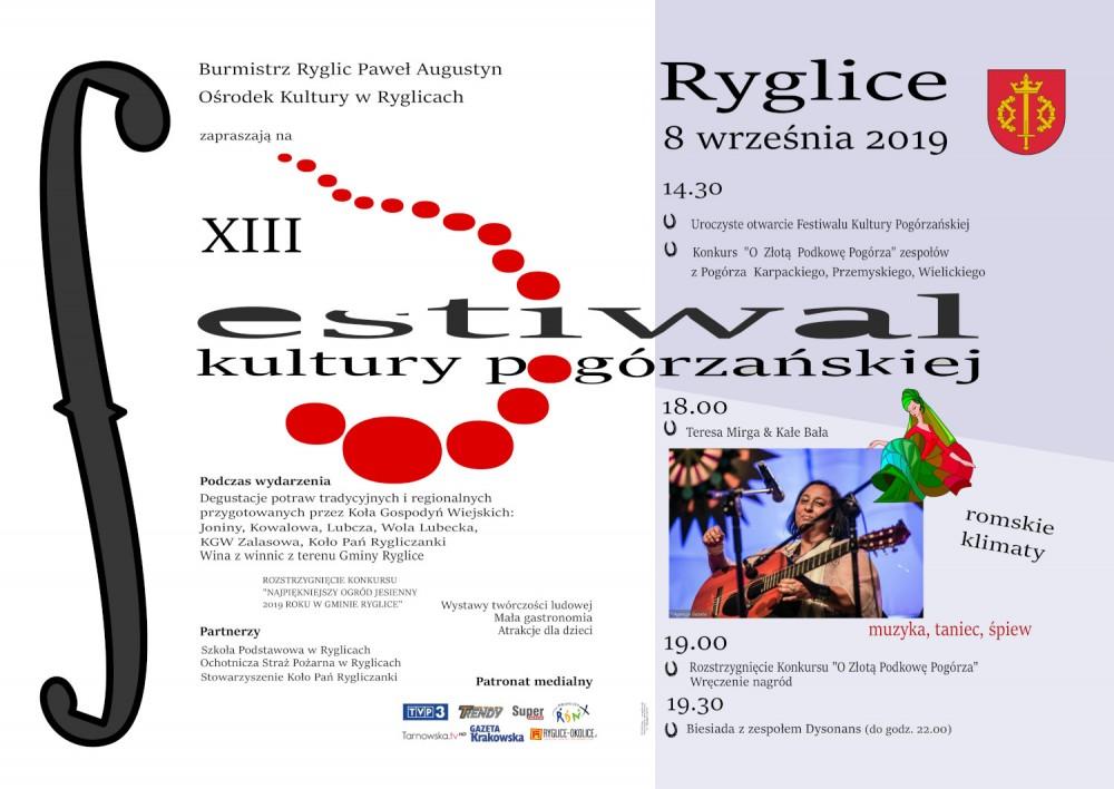Festiwal Kultury Pogórzańskiej